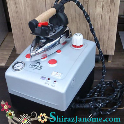 اطو بخار 3,5 لیتری سیلتر مدل سیمرغ