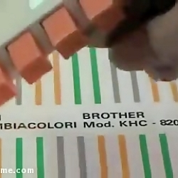 آموزش 4 رنگ بافی با ماشین بافندگی