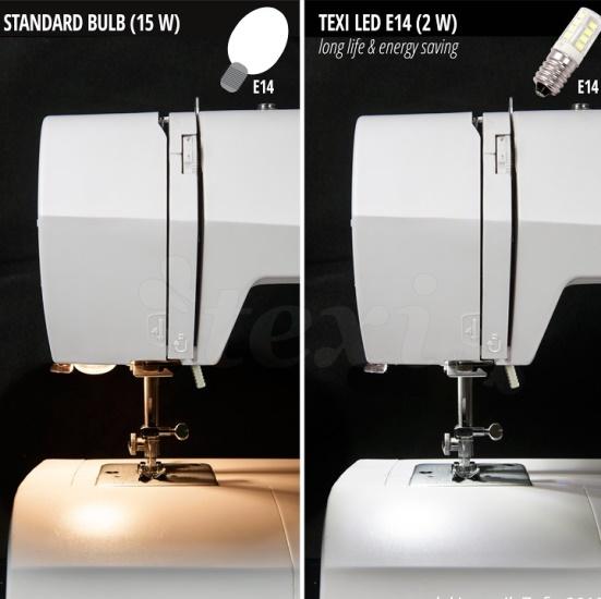 لامپ پیچی LED چرخ خیاطی ژانومه ژاپن