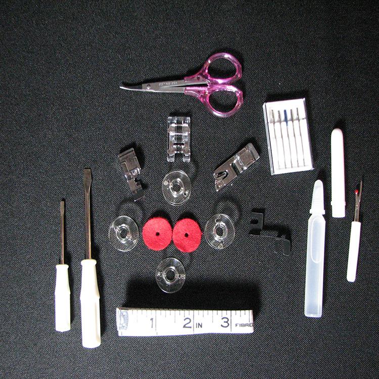 ابزار همراه چرخ (پایه زیپ، جادکمه و لبه توزنی)