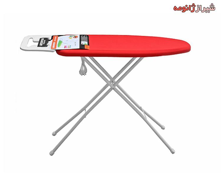 میز اتو پایه بلند پریزدار صفحه فایبرگلاس